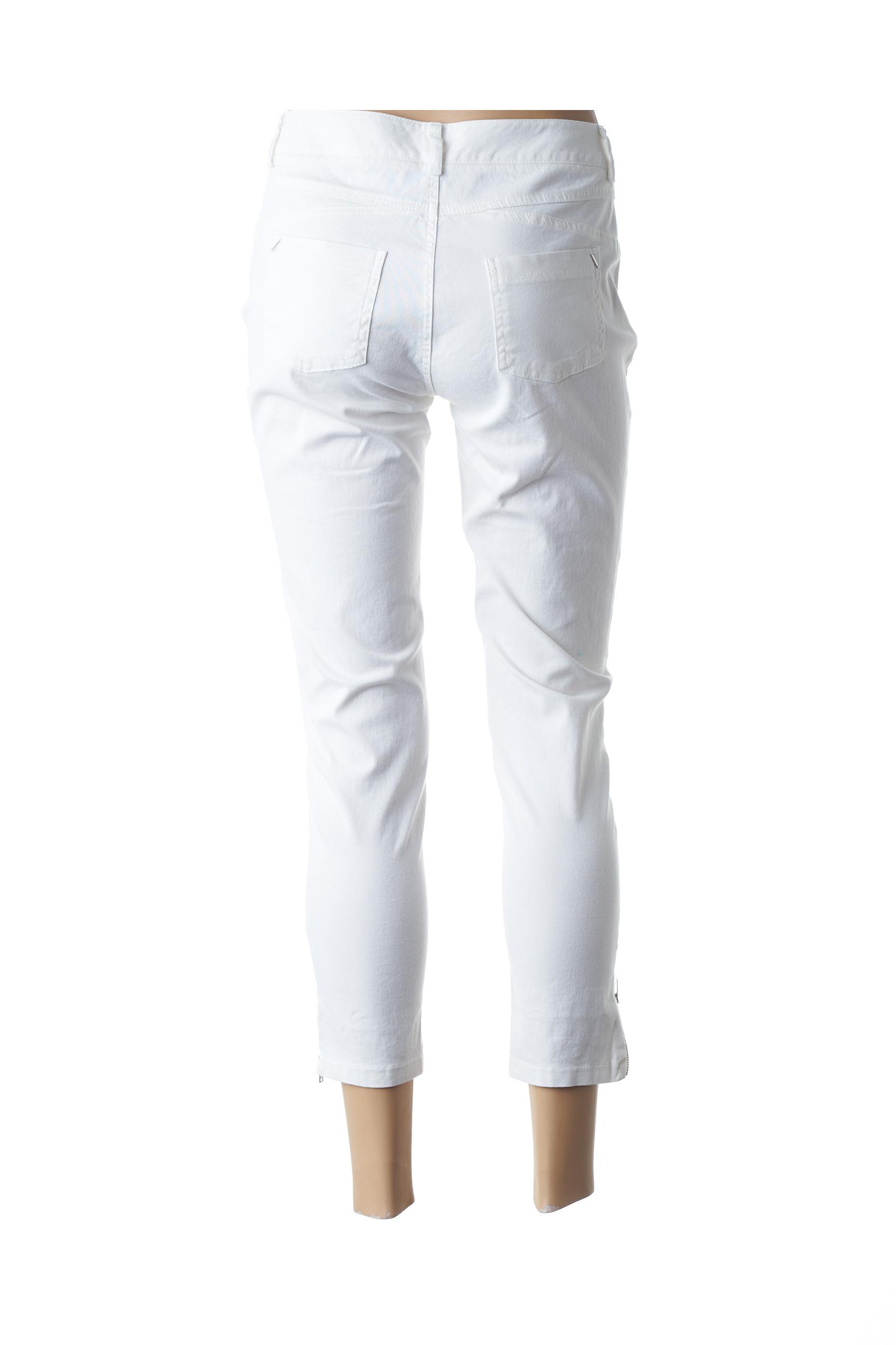 Eva Kayan Pantacourts Decontractes Femme De Couleur Blanc En Soldes Pas Cher 1442402-blanc0
