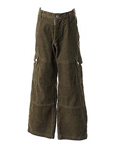 Pantalon casual vert GIRANDOLA pour garçon