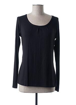 T-shirt manches longues noir EMMEBIVI pour femme