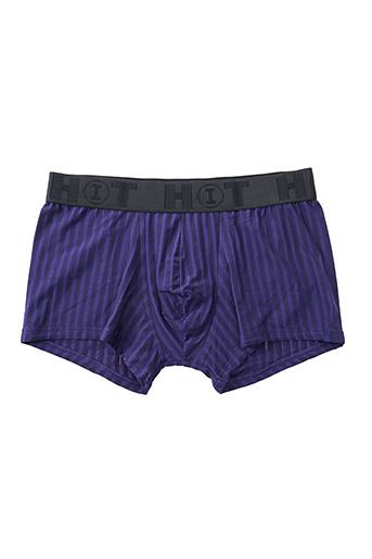 Shorty/Boxer violet HOT pour homme