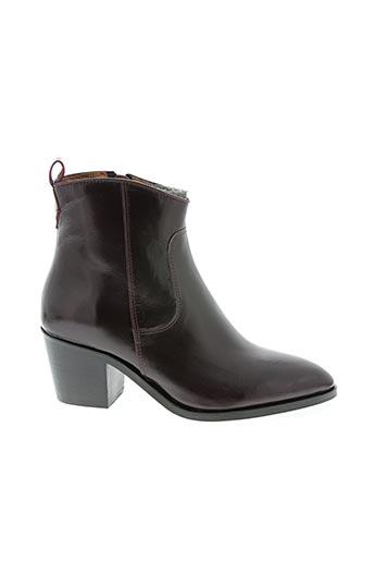Bottines/Boots violet BILLIBI pour femme