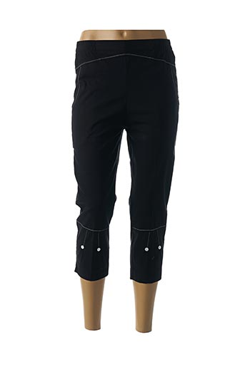 Pantalon 7/8 noir GEVANA pour femme