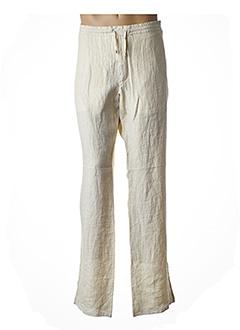 Pantalon casual beige GIANFRANCO FERRE pour homme