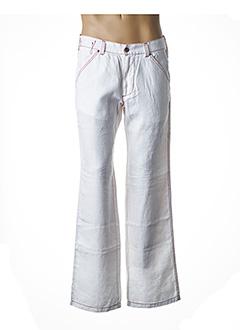 Pantalon casual blanc GIANFRANCO FERRE pour homme