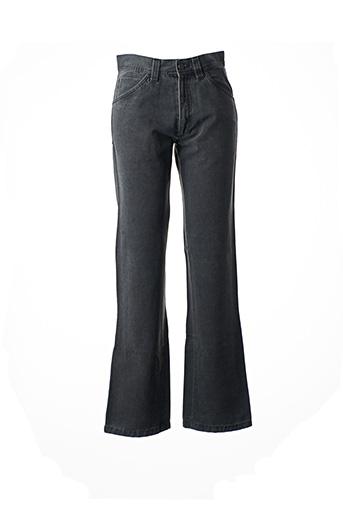 Jeans coupe droite gris FLORENTINO pour homme