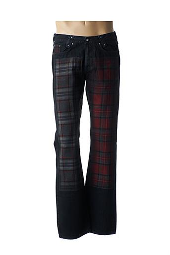Jeans coupe droite noir VERSUS pour homme