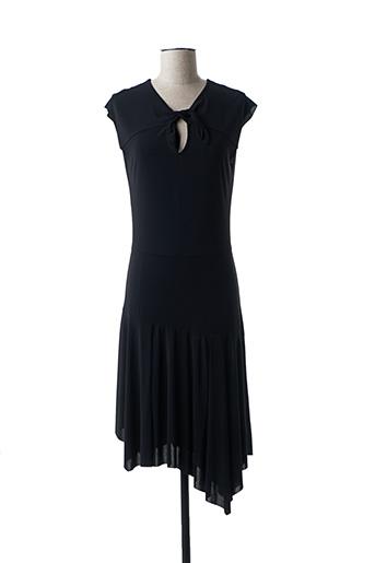 Robe mi-longue noir B.YU pour femme
