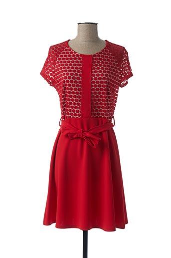 Robe courte rouge FIFILLES pour femme