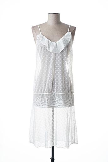 Nuisette/combinette blanc ANTINEA pour femme