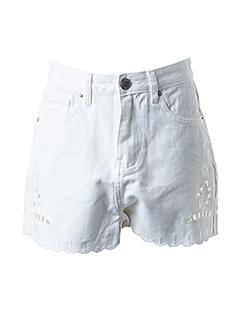 Produit-Shorts / Bermudas-Femme-SUNCOO