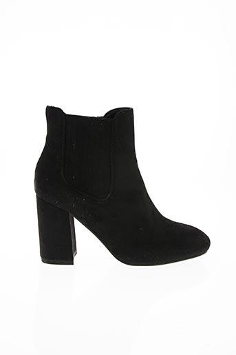 Bottines/Boots noir J&J SHOES pour femme