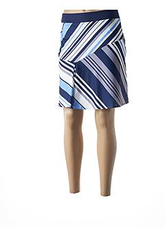 Jupe courte bleu ESQUALO pour femme