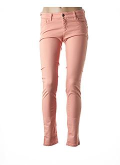 Pantalon casual orange COUTURIST pour femme