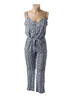 Combi-pantalon bleu GARANCE pour femme