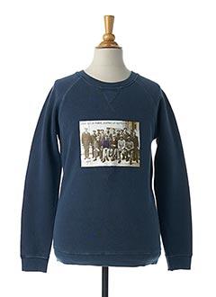 Sweat-shirt bleu SGIO pour garçon