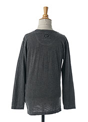 T-shirt manches longues gris PETROL INDUSTRIES pour garçon seconde vue