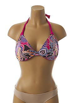 Haut de maillot de bain rose FREYA pour femme