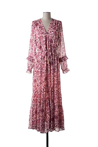 Robe longue rose AMENAPIH pour femme