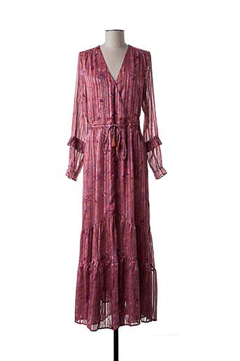 Robe longue rouge AMENAPIH pour femme