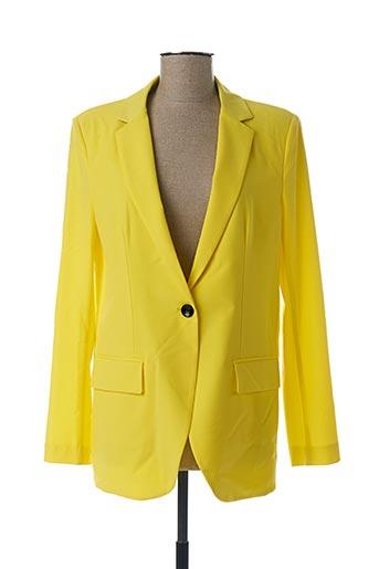 Veste chic / Blazer jaune IMPERIAL pour femme