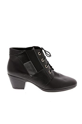 Bottines/Boots noir BOISSY pour femme
