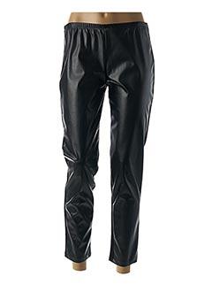 Pantalon casual noir MARIA BELLENTANI pour femme