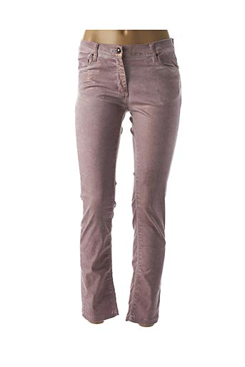 Pantalon 7/8 rose CARLA KOPS pour femme