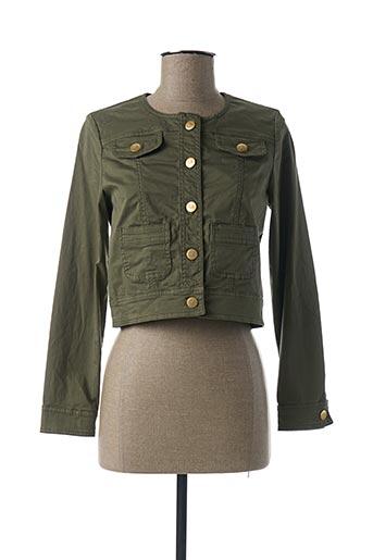 Veste casual vert PAUL BRIAL pour femme