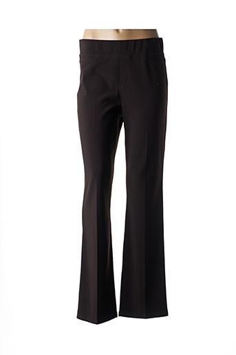 Pantalon casual marron JOSEPH RIBKOFF pour femme