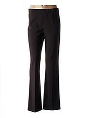 Pantalon casual marron JOSEPH RIBKOFF pour femme seconde vue