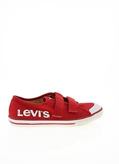 Baskets rouge LEVIS pour garçon