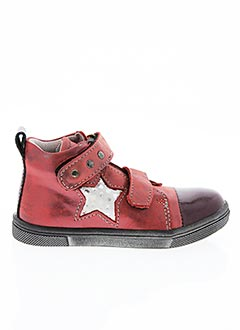 Bottines/Boots rouge BELLAMY pour fille