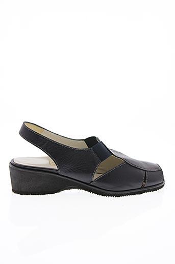 Sandales/Nu pieds bleu ALEX pour femme