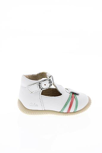 Sandales/Nu pieds blanc ASTER pour fille
