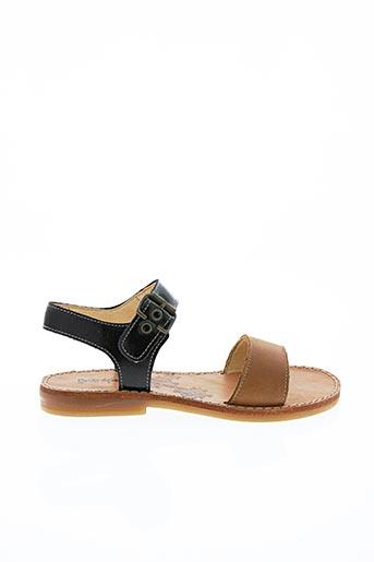 Sandales/Nu pieds noir INTREPIDES PAR BABYBOTTE pour fille