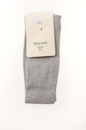 Chaussettes gris MAYORAL pour fille