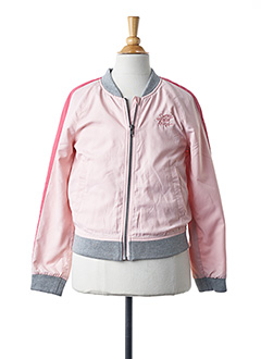 Blouson rose SORRY 4 THE MESS pour fille