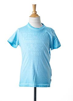 T-shirt manches courtes bleu PETROL INDUSTRIES pour garçon
