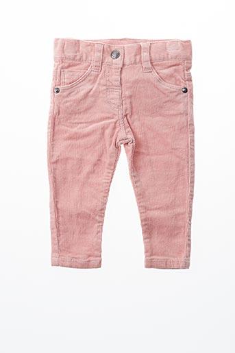 Pantalon casual rose BOBOLI pour fille