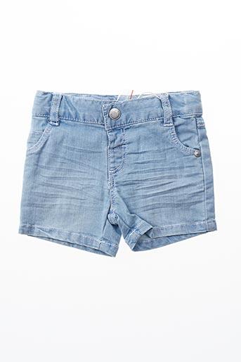 Short bleu BOBOLI pour fille