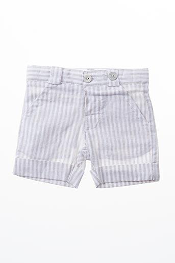 Short gris BOBOLI pour garçon