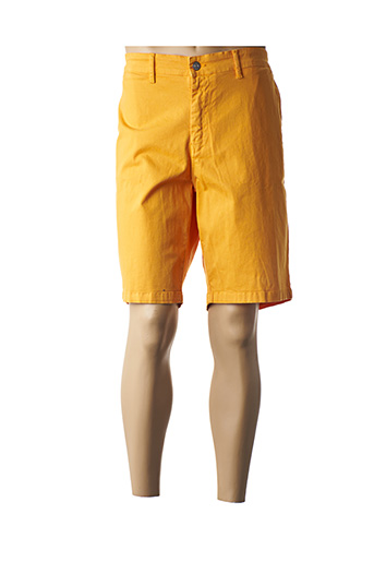 Bermuda jaune SERGE BLANCO pour homme