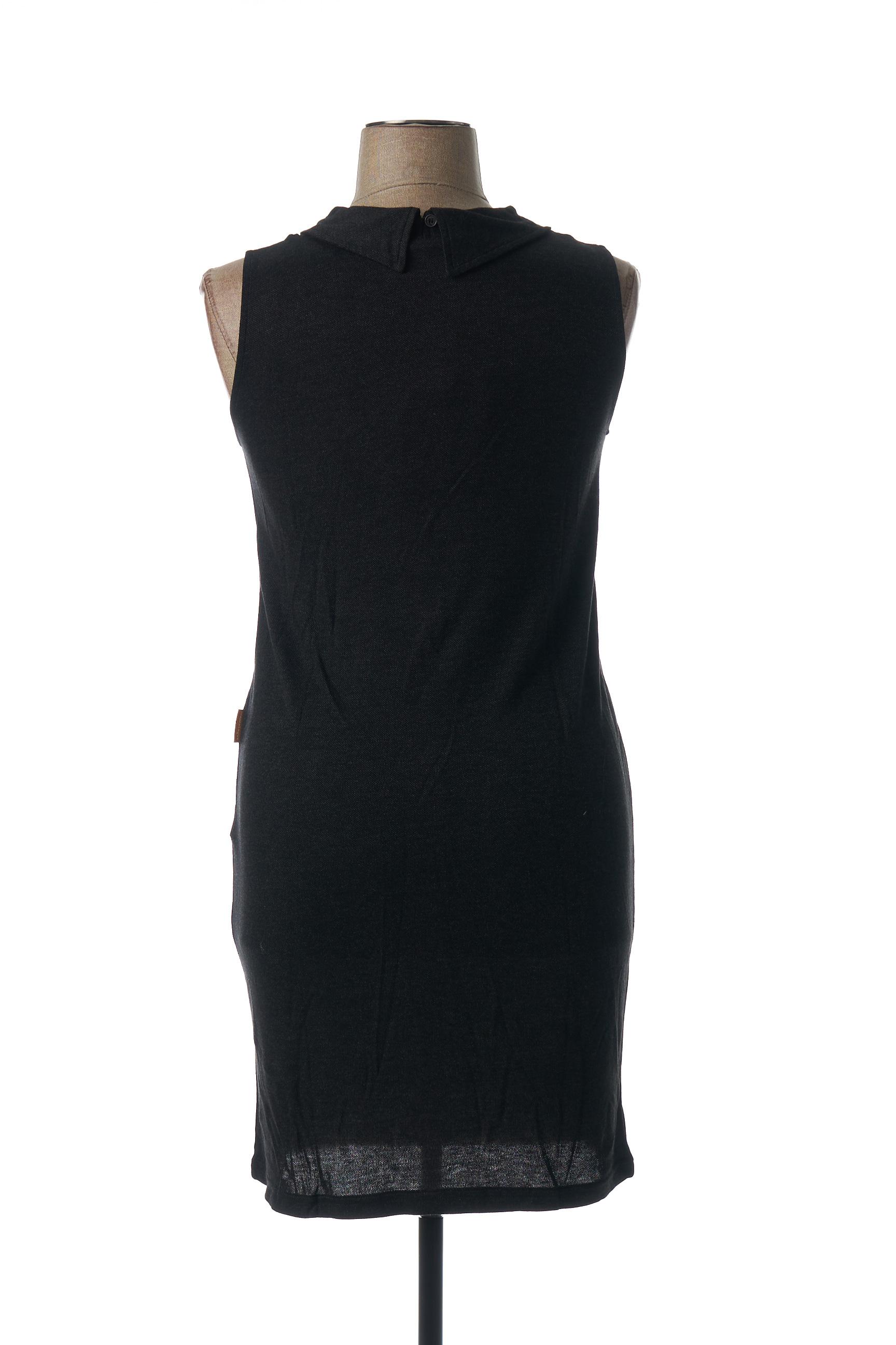 Mamatayoe Robes Mi Longues Femme De Couleur Gris En Soldes Pas Cher 1441877-gris00
