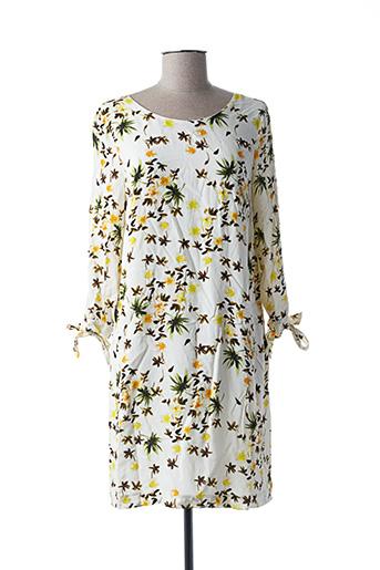 Robe courte jaune HARRIS WILSON pour femme