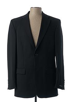 Veste chic / Blazer noir BRUNO SAINT HILAIRE pour homme