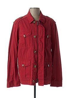Veste casual rouge EDEN PARK pour homme