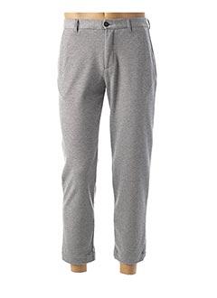 Pantalon casual gris AMERICAN VINTAGE pour homme