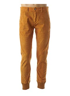 Pantalon casual jaune FRENCH DISORDER pour homme