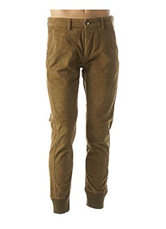 Pantalon casual vert FRENCH DISORDER pour homme