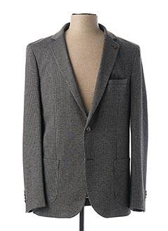 Veste chic / Blazer gris BENSON & CHERRY pour homme